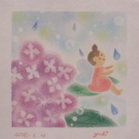 紫陽花の精